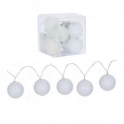 Guirnalda 10 bolas Led blancas