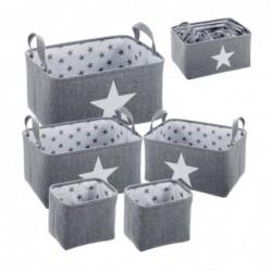 Cesta Juego 5 Unidades estrella