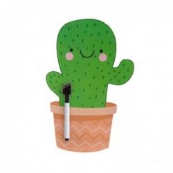 Pizarra Magnetica con Marcador Cactus 28 cm
