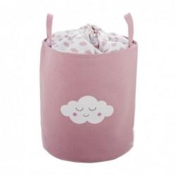 Cesto Pongotodo Nube rosa 40 cm
