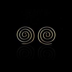 Pendientes Espiral de Bronce