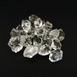 Bolsa de Cuarzo Diamante Herkimer 25 piezas (pack 7-9gr)