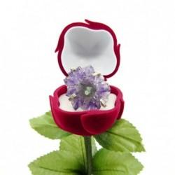 Caja para Joya con Forma de Rosa 5 cm