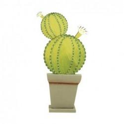 Adorno Pared Cactus 24 cm
