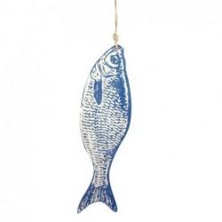 Adorno Pared Pez Azul 31 cm