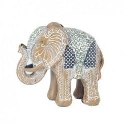 Figura Resina Elefante 14 cm
