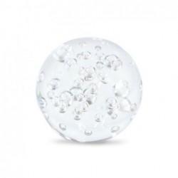 Pisapapel Cristal Bola Burbuja 7 cm