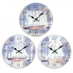 Reloj Pared Barco Surtido (1 unidad) 34 cm