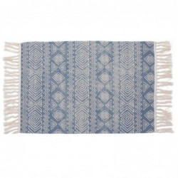 Alfombra Etnic Azul 60x90 cm