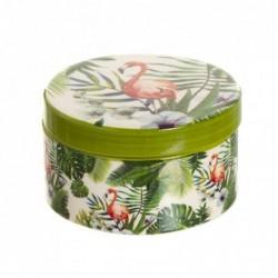 Caja Redonda Tropical 9 cm