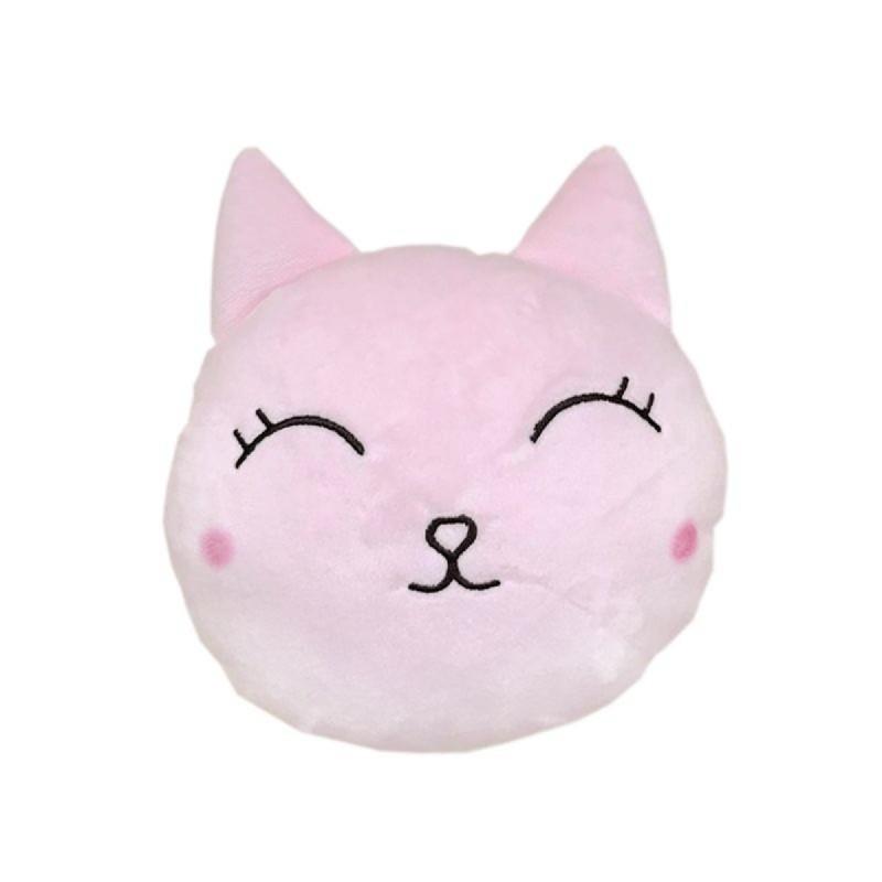 Cojin Gato Rosa 20 cm