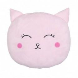Cojin Gato Rosa 35 cm