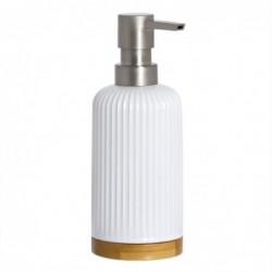 Dispensador Jabon Blanco 17 cm