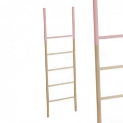 Escalera Madera Rosa 150 cm