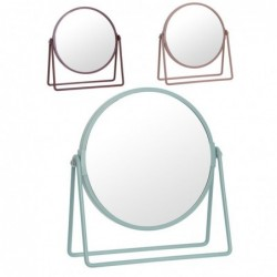 Espejo Bano 5 Aumentos x3 Colores 20 cm