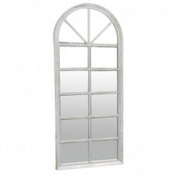 Espejo Pared Ventana Blanco 76 cm