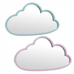 Espejo Pared x2 Nubes 45 cm