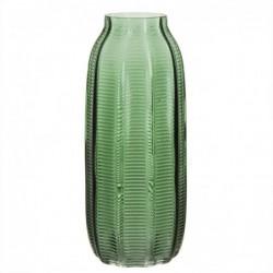 Jarron alto Cristal verde 29 cm