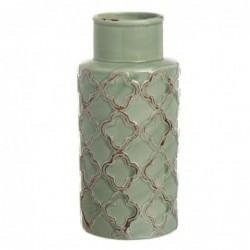 Jarron Ceramica Verde 24 cm