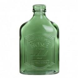 Jarron Cristal botella Plana Portobello