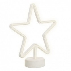 Lampara Sobremesa Neon Estrella 27 cm