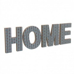 Letrero Home Azul 52 cm