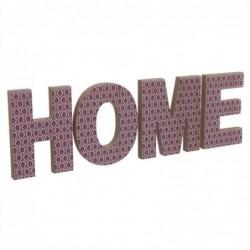 Letrero Home Rojo 52 cm
