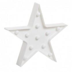Panel Luz Estrella LED 27 cm