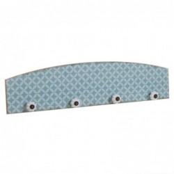 Perchero Mosaico Azul 60 cm