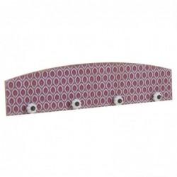 Perchero Mosaico Rojo 60 cm