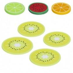Posavasos Juego 4 Unidades Frutas 10 cm