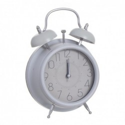Reloj sobremesa Gris 17 cm