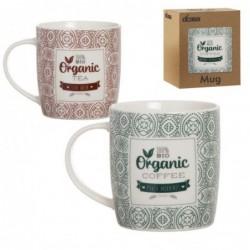 Taza Mug x2 Organic 10 cm