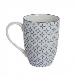 Taza Mug x4 Ceramica 310 ml