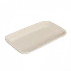 Vaciabolsillos Ceramica Blanco 33 cm