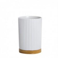 Vaso Bano Blanco 10 cm