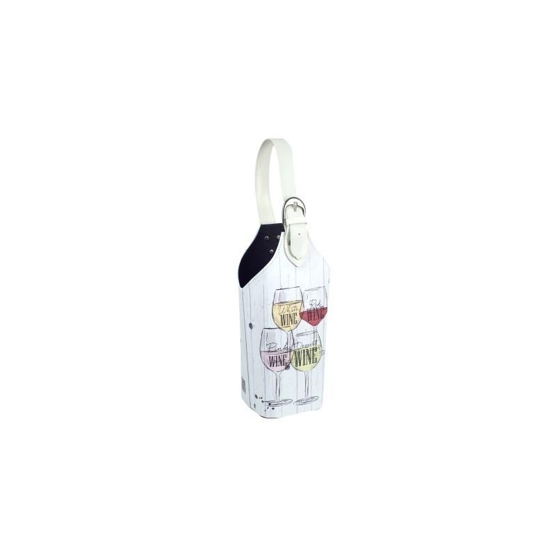 Botellero Poliester Vino 30 cm