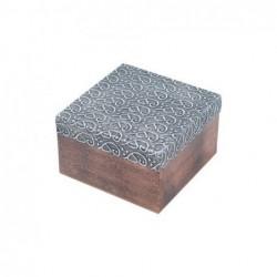 Caja Madera Cuadrada 10 cm