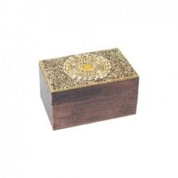 Caja Madera Rectangular 10 cm
