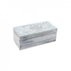 Caja Madera Rectangular 16 cm