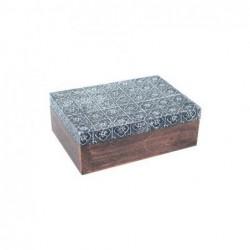 Caja Madera Rectangular 18 cm