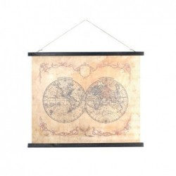 Cuadro Mapamundi 60x75 cm