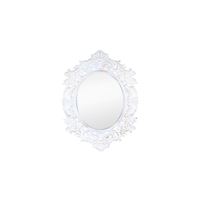 Espejo Pared Barroco Madera 80x60 cm