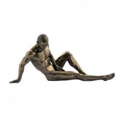 Figura Clasica Resina Hombre Desnudo 26 cm