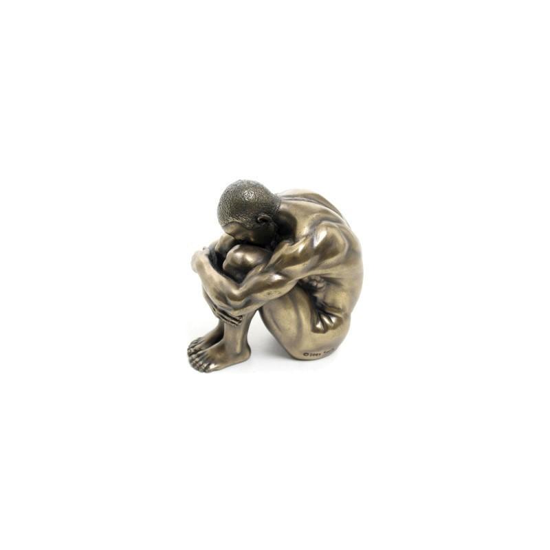 Figura Clasica Resina Hombre Desnudo 6 cm
