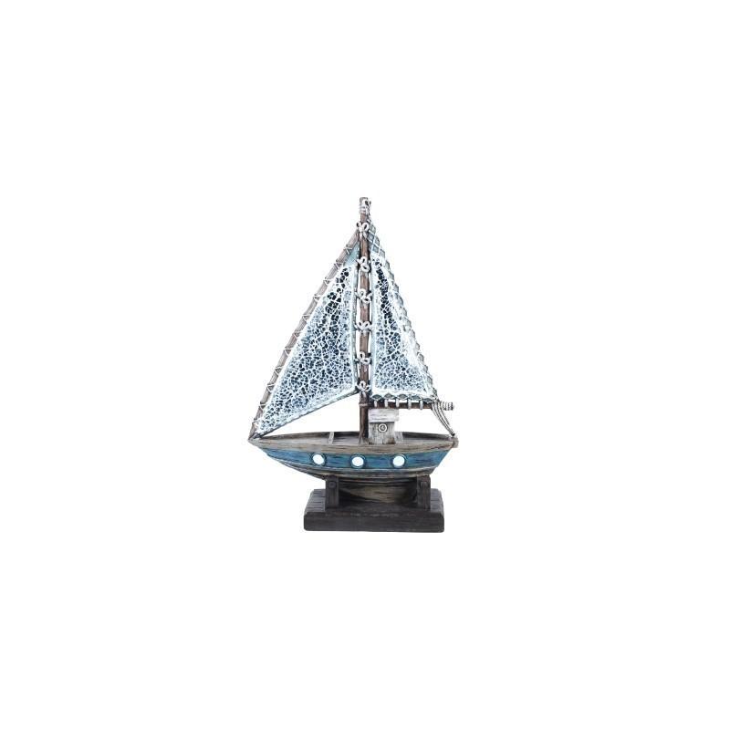 Figura Decorativa Barco 32 cm