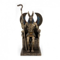 Figura Resina Anubis Dios Egipcio 27 cm