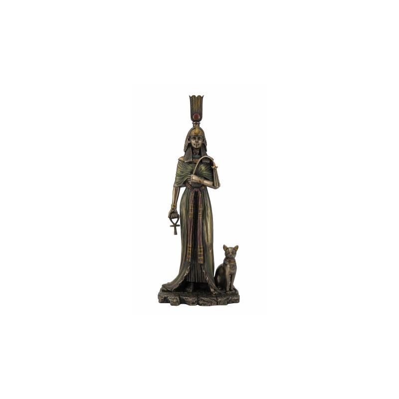 Figura Resina Nefertiti Reina Egipcia 27 cm