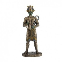 Figura Resina OSIRIS Dios Egipcio 27 cm