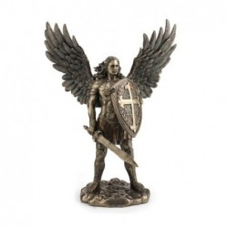 Figura Resina San Miguel 35 cm